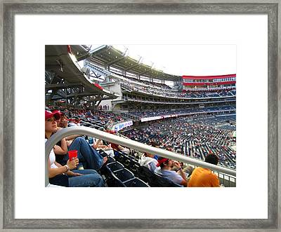Nationals Park - 01133 Framed Print by DC Photographer
