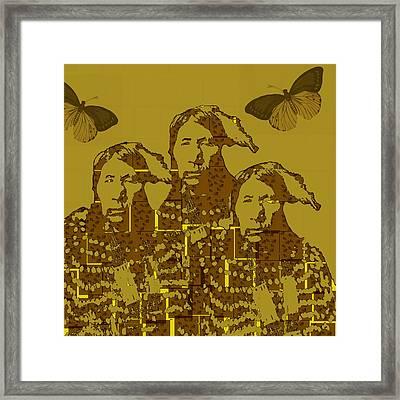 Native American Hope Framed Print by Jeff Burgess
