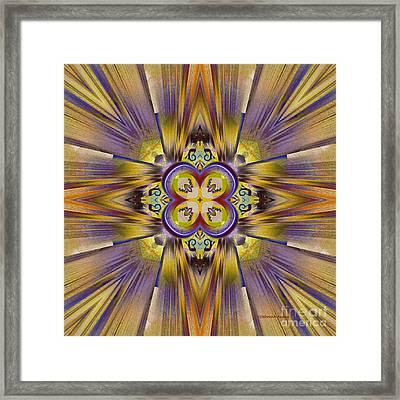 Native American Spirit Framed Print by Deborah Benoit
