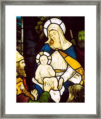 Nativity Framed Print by Robert Anning Bell