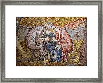 Nativity Framed Print by Stephen Stookey
