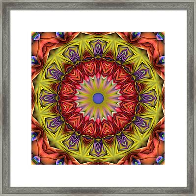 Natural Attributes 05 Square Framed Print by Wendy J St Christopher