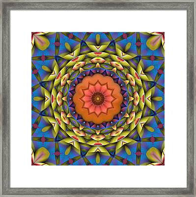 Natural Attributes 08 Square Framed Print by Wendy J St Christopher