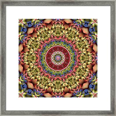 Natural Attributes 10 Square Framed Print by Wendy J St Christopher