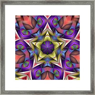 Natural Attributes 16 Square Framed Print by Wendy J St Christopher