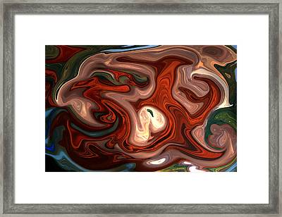 Natural Flow Framed Print by Aidan Moran