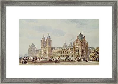 Natural History Museum  Framed Print by Alfred Waterhouse