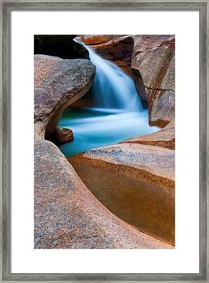 Natural Sculpture - Basin Formations Framed Print by Thomas Schoeller