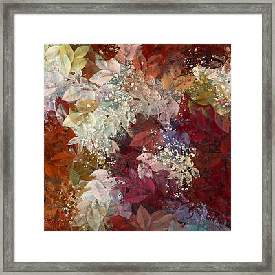 Naturaleaves - 88c02 Framed Print by Variance Collections