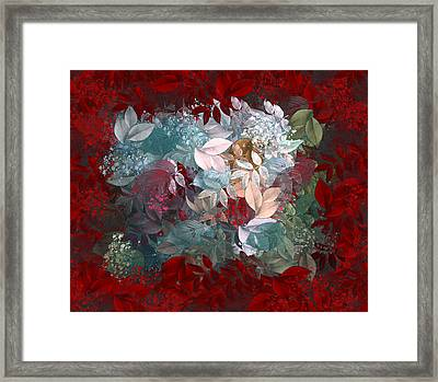 Naturaleaves - S20-03c Framed Print by Variance Collections