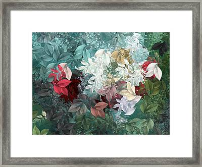Naturaleaves - S20-05b Framed Print by Variance Collections