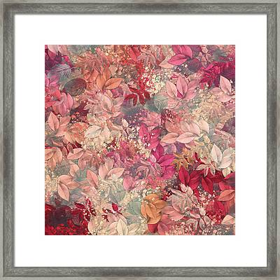 Naturaleaves - S65b Framed Print by Variance Collections