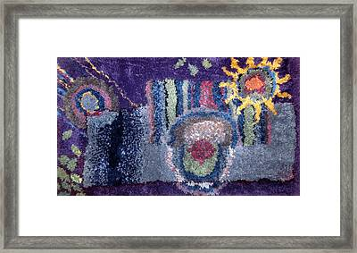 Naturally Abstract Framed Print by Cherie Sexsmith