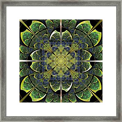 Nature Gates Framed Print by Anastasiya Malakhova