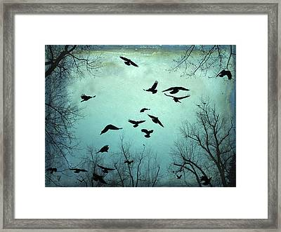 Nature In Motion Framed Print by Gothicolors Donna Snyder