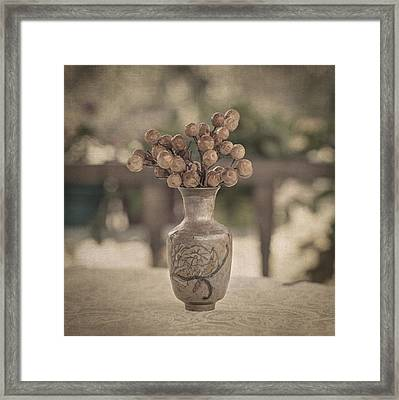 Nature Morte Framed Print by Taylan Soyturk