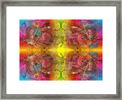Nature Of Awareness Framed Print by Betsy Knapp