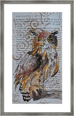Nature Prevails Original Version Framed Print by Beverley Harper Tinsley