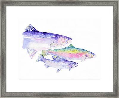 Natures Artwork Framed Print by Pat Saunders-White