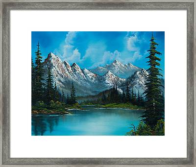 Nature's Grandeur Framed Print by C Steele