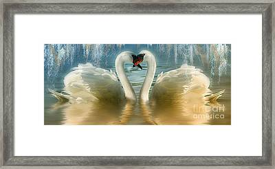 Natures Love Framed Print by Elaine Manley