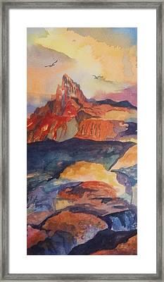 Natures Palette Framed Print by Ellen Levinson