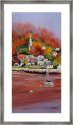 Natures Palette Framed Print by Laura Lee Zanghetti