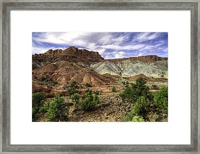 Natures Valley Framed Print by Stephen Campbell
