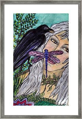 Natures Wisdon Framed Print by Linda Marcille