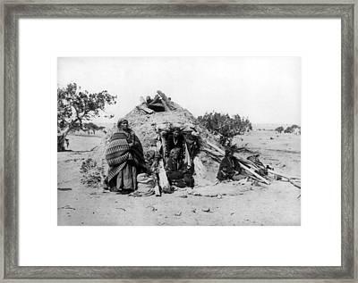 Navajo Family, C1914 Framed Print by Granger