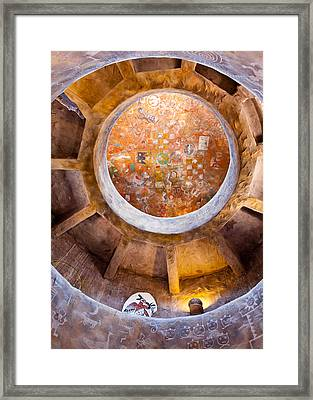 Navajo Watchtower Framed Print by Dave Bowman