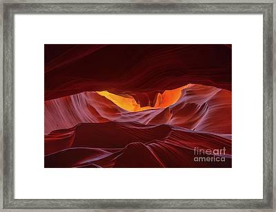 Navajo Wonder Framed Print by Marco Crupi