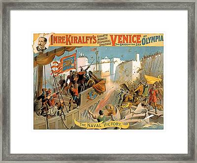Naval Victory Framed Print by Terry Reynoldson