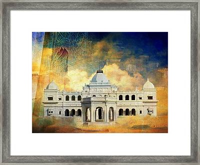 Nawab's Palace Framed Print by Catf