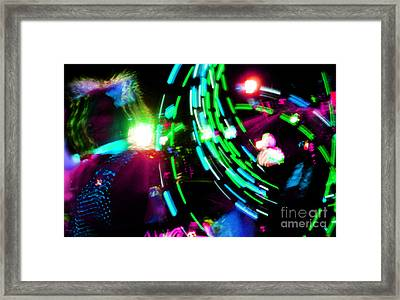 Nce Nce Nce Framed Print by Kyle Walker