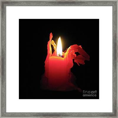 Nearing Burnout Framed Print by Ann Horn