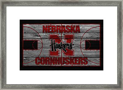 Nebraska Cornhuskers Framed Print by Joe Hamilton