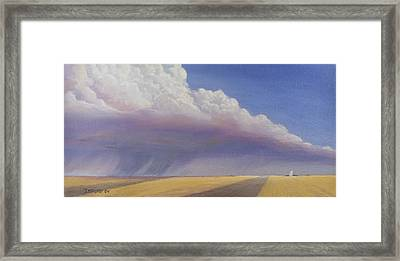 Nebraska Vista Framed Print by Jerry McElroy