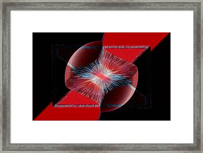 Nebulous 1 Framed Print by Angelina Vick
