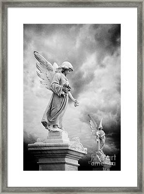 Necropolis 12 Framed Print by Colin and Linda McKie