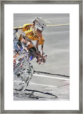 Need For Speed Framed Print by Vicki Pelham