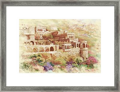 Neemrana Fort Palace Framed Print by Catf