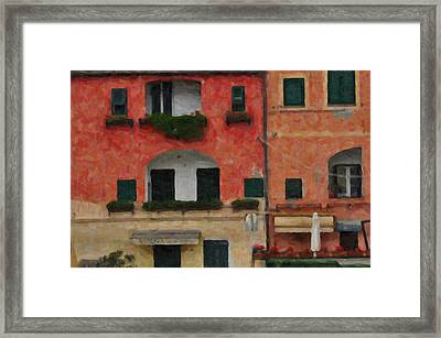 Neighbour Close Framed Print by Alessandro Martinetti