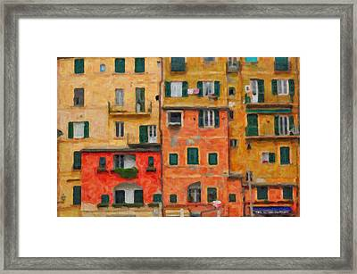 Neighbours Framed Print by Alessandro Martinetti