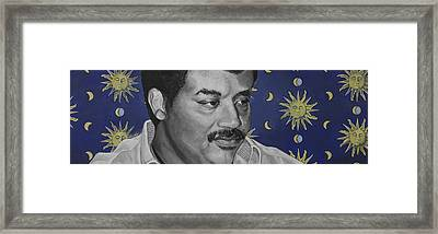Neil Degrasse Tyson Framed Print by Simon Kregar
