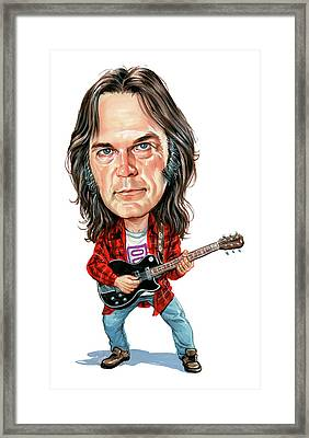 Neil Young Framed Print by Art