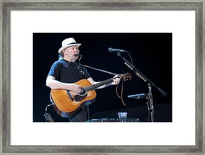 Neil Young Framed Print by Shawn Everhart