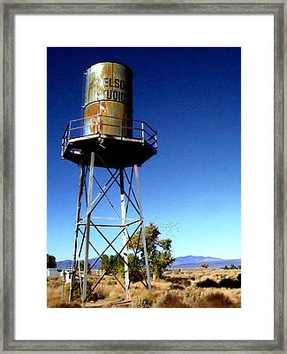 Nelson Studio  Color - Lucerne Valley Framed Print by Glenn McCarthy Art and Photography