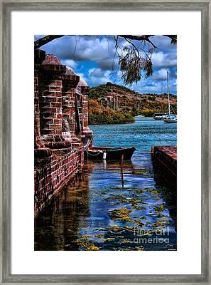 Nelson's Dockyard Antigua Framed Print by Tom Prendergast