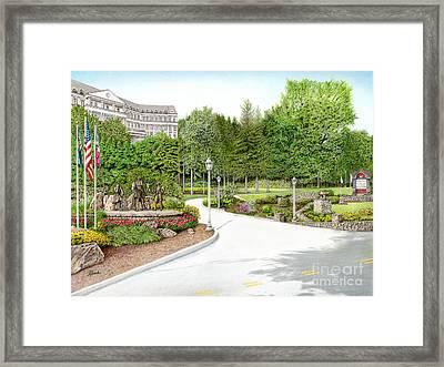 Nemacolin Woodlands Framed Print by Albert Puskaric